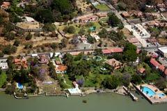 Chapala aerial view Royalty Free Stock Photo
