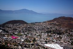 Chapala aerial view Royalty Free Stock Photo