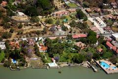 Chapala Luftaufnahme Stockfoto
