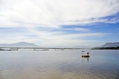 Chapala's lake, Ajijic, Mexico Stock Photo