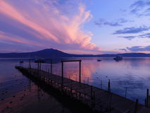 Chapala& x27;s sunset Stock Images