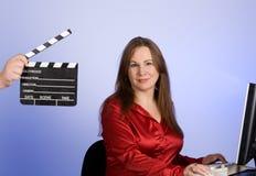 Chapaleta de la película Fotos de archivo