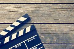Chapaleta de la película Imagen de archivo libre de regalías