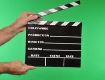 Chapaleta de la película imagenes de archivo