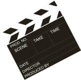 Chapaleta-tarjeta del director de película Fotos de archivo libres de regalías