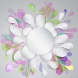 Chapaleteo abstracto Imagen de archivo libre de regalías