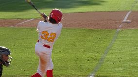 Chaparral Firebird-Baseball 2019 gegen Berg Ridge Mountain Lions stockfoto