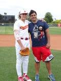 Chaparral Firebird-Baseball 2019 gegen E lizenzfreie stockfotos