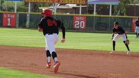 Chaparral Firebird-Baseball 2019 gegen Sandra Day O ?Connor Eagles lizenzfreie stockbilder