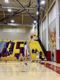 2018-19 Chaparral Firebird koszykówka vs Sandra Day O'Connor Eagles fotografia stock