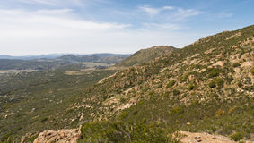 Chaparral Landscape Royalty Free Stock Images