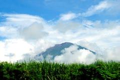 Chaparrastique火山 库存照片