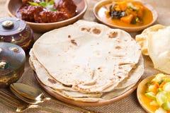 Chapati fotos de archivo