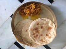 chapati zdjęcie stock