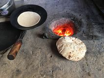 chapati image libre de droits