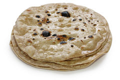 Chapati , flat indian bread Stock Image