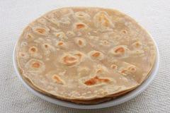 Chapati, Indiański chleb. zdjęcia stock