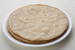 Chapati Indian bread. Stock Photo