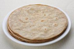 Chapati indianina chleb. zdjęcie stock