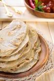 Chapati indiano Fotografia de Stock Royalty Free