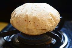 Chapati indien Images libres de droits