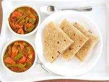 Chapati indien de nourriture Image libre de droits