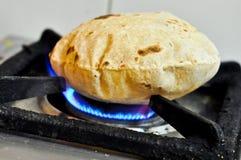 Chapati indio Fotografía de archivo