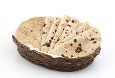 Chapati ou Tanturi Roti photo stock