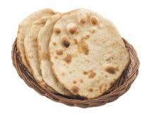 Chapati ou Tanturi Roti photos libres de droits