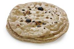 Chapati, pain indien plat image stock