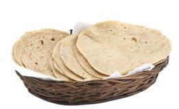 Chapati Roti Lub Tanturi zdjęcie stock