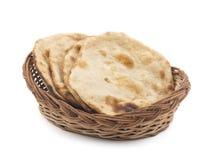 Chapati Or Tanturi Roti. Indian whole wheat flat Royalty Free Stock Photo