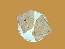 Chapati - Vegetarian Food of India Royalty Free Stock Photos