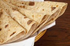 Chapatis Indian Bread Royalty Free Stock Photography