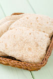 Chapatis. Traditional South Asian whole wheat flatbread Stock Images