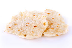 Chapatti or Indian Roti Stock Photo