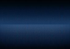 Chapeamento de metal azul Fotos de Stock