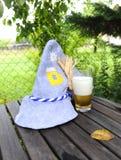 Chapeau bavarois d'Oktoberfest Photos stock