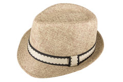 Chapeau beige Photos stock