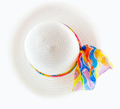 Chapeau blanc Image stock