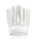 Chapeau blanc de chef Photos stock