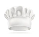 Chapeau blanc de chef Photographie stock libre de droits