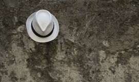 Chapeau blanc de policier de lac Photo libre de droits