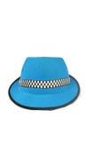 Chapeau bleu Photo stock