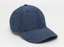 Chapeau bleu-foncé Image libre de droits