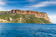 Chapeau Canaille la plus haute mer Cliff In France image stock
