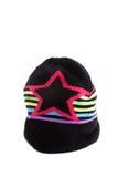 Chapeau coloré de l'hiver photo libre de droits