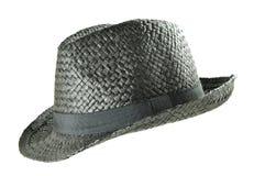 Chapeau d'été de paille Photographie stock