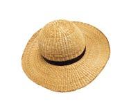 Chapeau d'été de paille Image stock