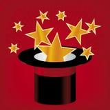 Chapeau d'étoile (vecteur) Photos libres de droits